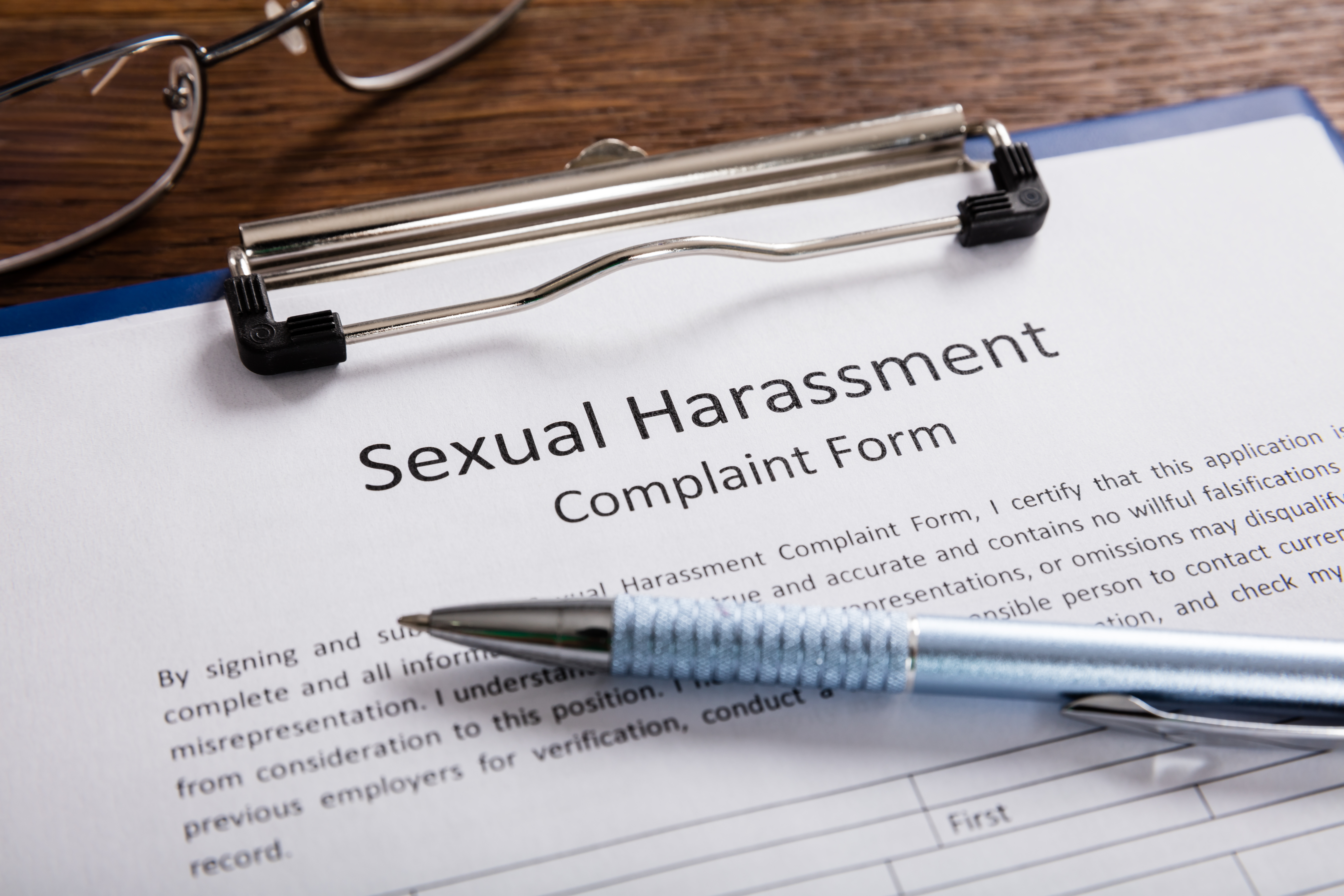 how to file a sexual harassment claim in California
