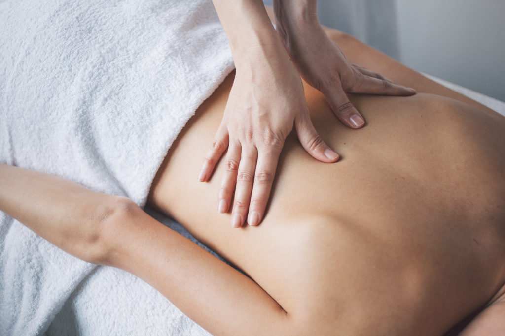 violated by massage therapist